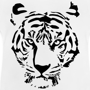 white tiger T-Shirts - Baby T-Shirt