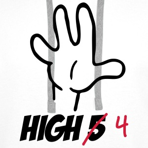 high five :-) T-shirts - Premiumluvtröja herr