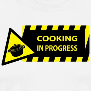 cooking in progress  Aprons - Men's Premium T-Shirt
