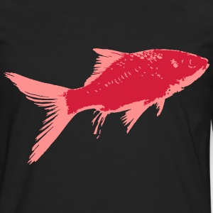 Poisson Rouge 2 Tee shirts - T-shirt manches longues Premium Homme