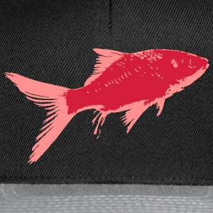 Poisson Rouge 2 Tee shirts - Casquette snapback