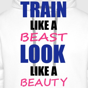 Train Like A Beast T-Shirts - Men's Premium Hoodie