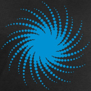 Music sun spiral points electro trance dance swirl T-Shirts - Men's Sweatshirt by Stanley & Stella