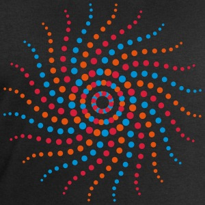 Music sun spiral points electro trance psychedelic T-Shirts - Men's Sweatshirt by Stanley & Stella
