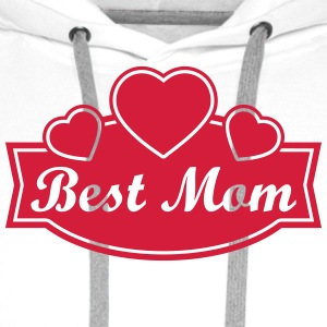 best mom T-skjorter - Premium hettegenser for menn
