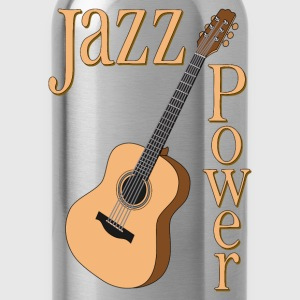 jazz power 01 T-Shirts - Water Bottle