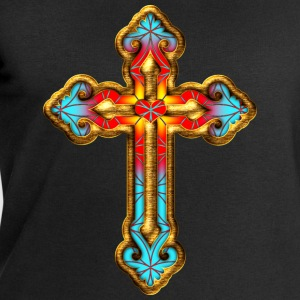Cross Christian Church Jesus God Religious Belief T-Shirts - Men's Sweatshirt by Stanley & Stella