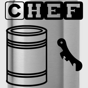 tin can chef T-shirts - Vattenflaska