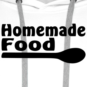 homemade food - Sweat-shirt à capuche Premium pour hommes