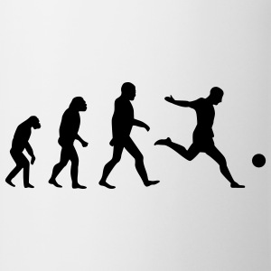Vit Soccer Evolution T-shirts - Mugg