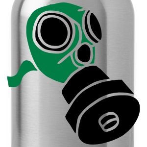 Gasmaske poison gas mask fallout giftgas BondageSM T-Shirts - Trinkflasche