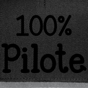 100% Pilote Tee shirts - Casquette snapback
