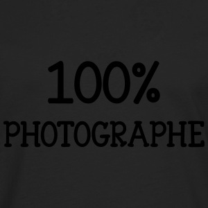 100% Photographe Tee shirts - T-shirt manches longues Premium Homme