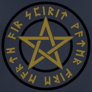Pentagram elements magical runes star symbol pagan Hoodies & Sweatshirts - Men's Breathable T-Shirt