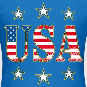 united states 08 Sweat-shirts - T-shirt Femme