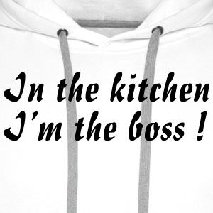 Kitchen Boss - Sweat-shirt à capuche Premium pour hommes