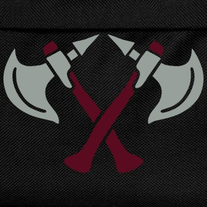 brave warrior gladiator axe tomahawk knights fight Camisetas - Mochila infantil