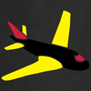 airplanes jet sky freedom aircraft flying glider Camisetas - Delantal de cocina