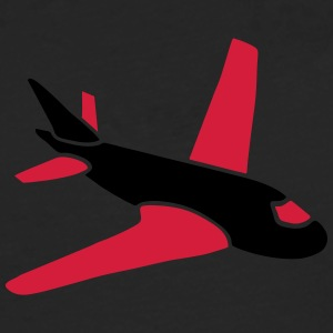 airplanes jet sky freedom aircraft flying glider T-shirts - Långärmad premium-T-shirt herr