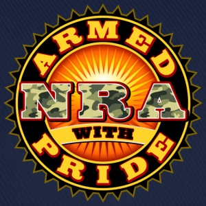 NRA - ARMED WITH PRIDE T-Shirts - Baseballkappe