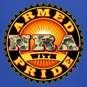 NRA - ARMED WITH PRIDE T-Shirts - Frauen Tank Top von Bella