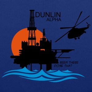 Dunlin Alpha Oil Rig Platform - Tote Bag