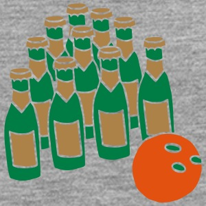 Bowlingball Strike Pins Spare Split Beer Bier Team T-Shirts - Men's Premium Longsleeve Shirt