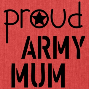 Army Mum Hoodies & Sweatshirts - Shoulder Bag made from recycled material