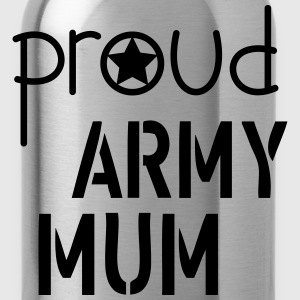 Army Mum T-Shirts - Water Bottle