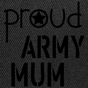 Army Mum Tee shirts - Casquette snapback