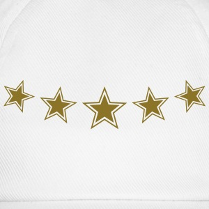 5 Star Gold Gift Hero Best Team Work Award Winner T-Shirts - Baseball Cap