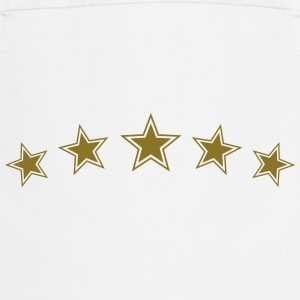 5 Star Gold Gift Hero Best Team Award Badge Winner T-Shirts - Cooking Apron