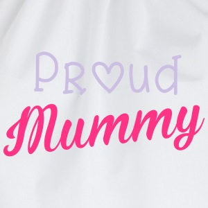 Proud Mummy T-shirts - Gymtas