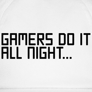 Gamers Do It  T-shirts - Basebollkeps