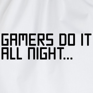 Gamers Do It  T-shirts - Gymtas