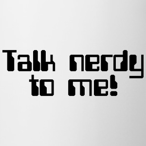 Talk Nerdy T-shirts - Mok