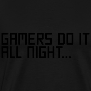Gamers Do It  Sweatshirts - Herre premium T-shirt
