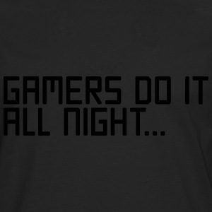 Gamers Do It  Sweaters - Mannen Premium shirt met lange mouwen