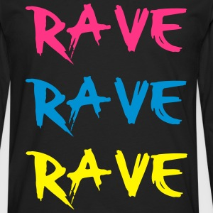 Rave Tee shirts - T-shirt manches longues Premium Homme