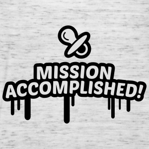 mission accomplished, baby, kind, geburt 2c Pullover & Hoodies - Frauen Tank Top von Bella