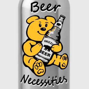 Beer necessities Bear necessities T-Shirts - Water Bottle