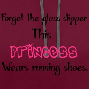 Princess T-Shirts - Contrast Colour Hoodie