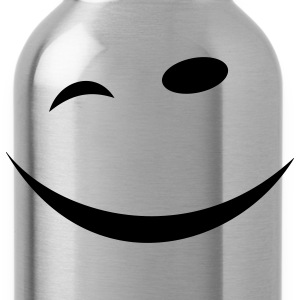Winking face T-Shirts - Water Bottle