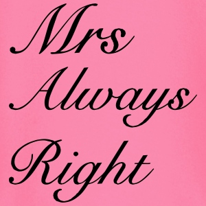 Mrs Right T-Shirts - Baby Long Sleeve T-Shirt