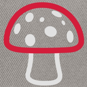 Mushroom color Hoodies & Sweatshirts - Snapback Cap