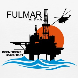 Fulmar Alpha Oil Rig Platform - Men's Premium T-Shirt