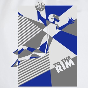 T-Shirt To The Rim San Antonio - Sac de sport léger