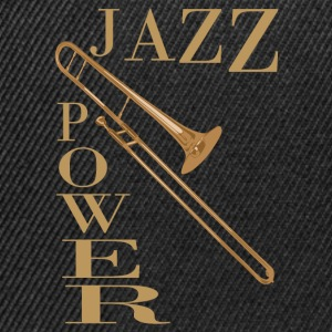 jazz power 02 Tee shirts - Casquette snapback