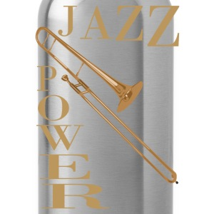 jazz power 02 T-Shirts - Water Bottle