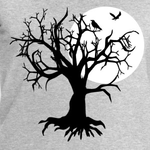 scary tree raven T-Shirts - Men's Sweatshirt by Stanley & Stella